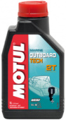 Масло моторное Motul Outboard Tech 2т 1л